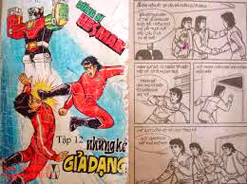 Creating comics, a challenging task in Vietnam
