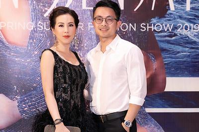 Hoa hậu Thu Hoài từng ngại xuất hiện cùng bạn trai Việt kiều ít tuổi