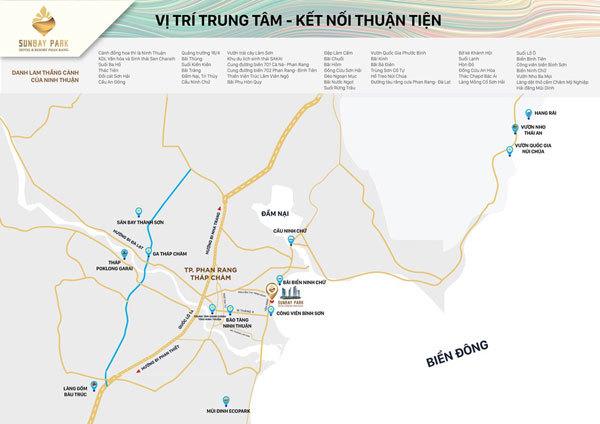 SunBay Park Hotel & Resort Phan Rang- 'vị trí kim cương' của tổ hợp cao nhất miền Trung