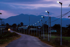Nhịp sống mới ở xã nghèo miền núi có đèn solar LED