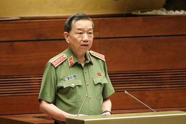 Bộ trưởng Công an,Tô Lâm,bộ trưởng xây dựng,chất vấn,quốc hội