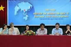 Ra mắt Viện Hợp tác Nghiên cứu Quốc tế của ĐH Thái Bình Dương