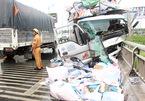 Xe tải tông chết 2 người trên cầu Rạch Miễu, 1 thi thể văng xuống sông