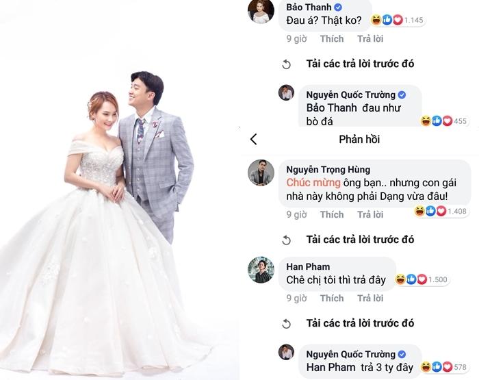 Quốc Trường 'Về nhà đi con' đăng ảnh cưới với Bảo Thanh trong phim