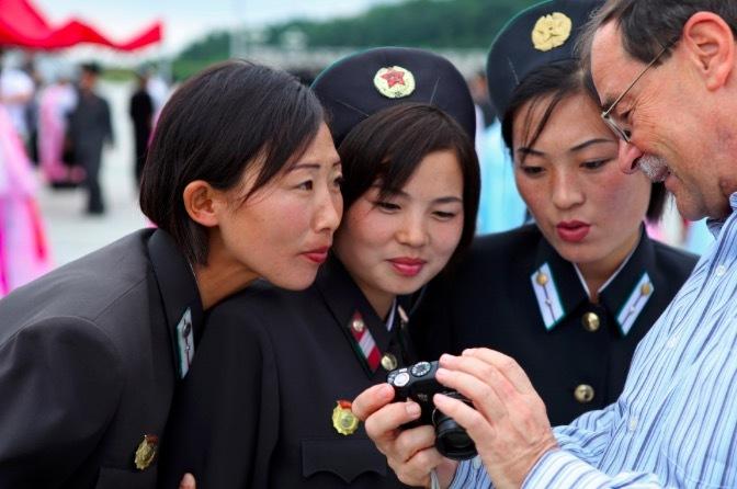Triều Tiên,du khách,đồng diễn thể dục,Trung Quốc