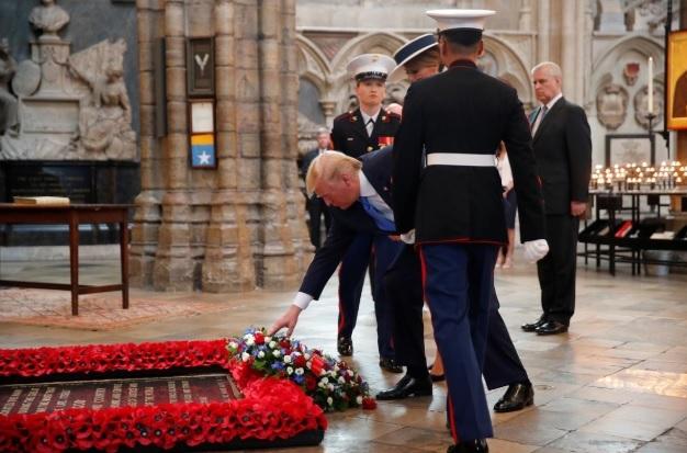 Ông Trump được Anh chào đón hoành tráng thế nào?