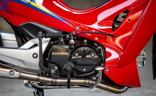 Honda Wave 125 lên đồ chơi hay, đẹp lung linh giữa xứ chùa vàng