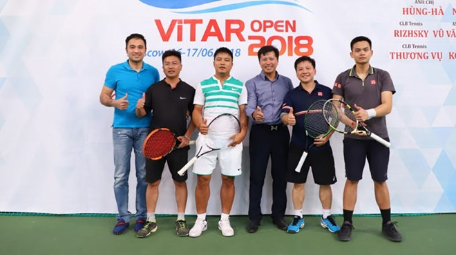 Tennisj,vietnamese in russia,Vietnam Tennis Association,Sports news