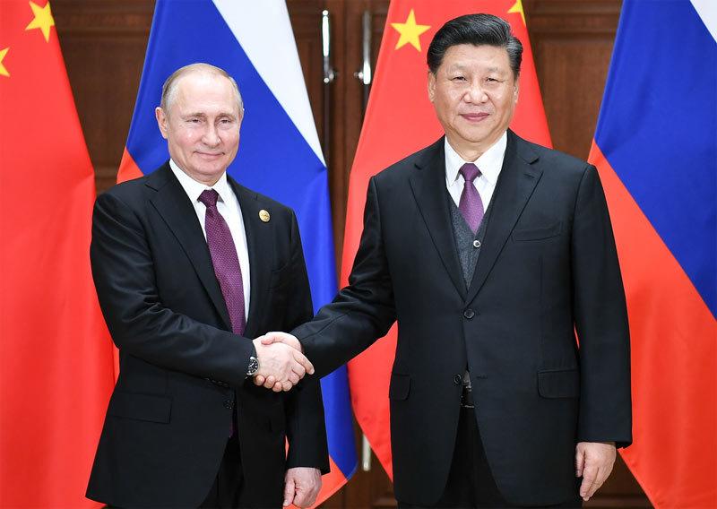 Nga,Trung Quốc,Tập Cận Bình,Vladimir Putin