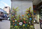 Hanoi: Sidewalk electricity boxes got a facelift