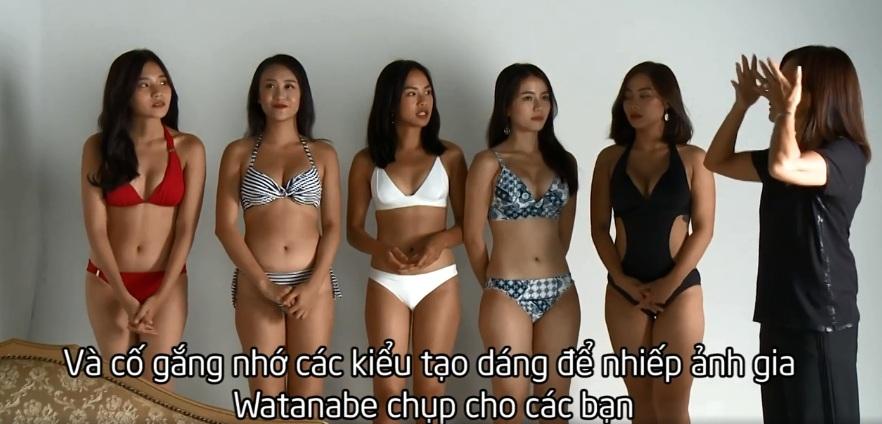 Show truyền hình Việt gây tranh cãi vì thí sinh tạo dáng khêu gợi kiểu Nhật