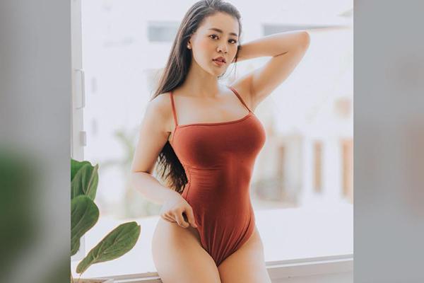 Cách tăng 11 cm vòng 3 của hot girl phòng gym xinh nhất Phan Thiết