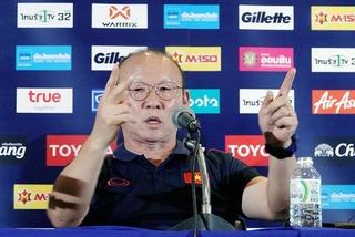 """HLV Park Hang Seo: """"Nhật Bản không sợ, sao phải ngại Thái Lan"""""""