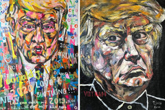 Italian exhibition to display Trump portraits by Vietnamese artist