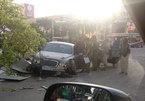 Sau tai nạn kinh hoàng, siêu xe tan nát thành sắt vụn
