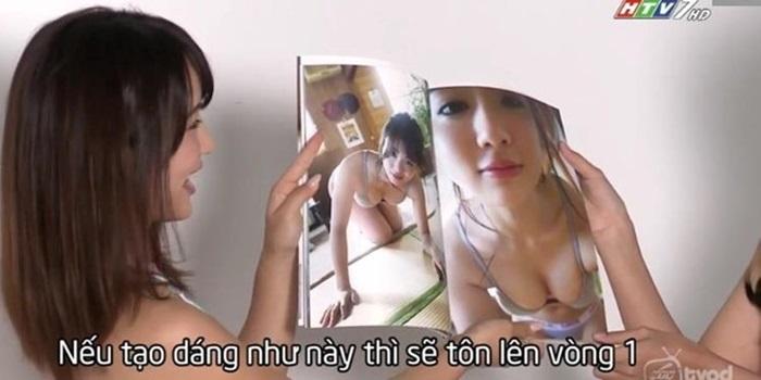 Sao Nhật hướng dẫn thí sinh Việt chụp khêu gợi trên truyền hình từng dính bê bối