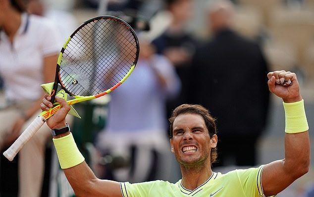 Nadal vs Nishikori,Roland Garros 2019,Nadal