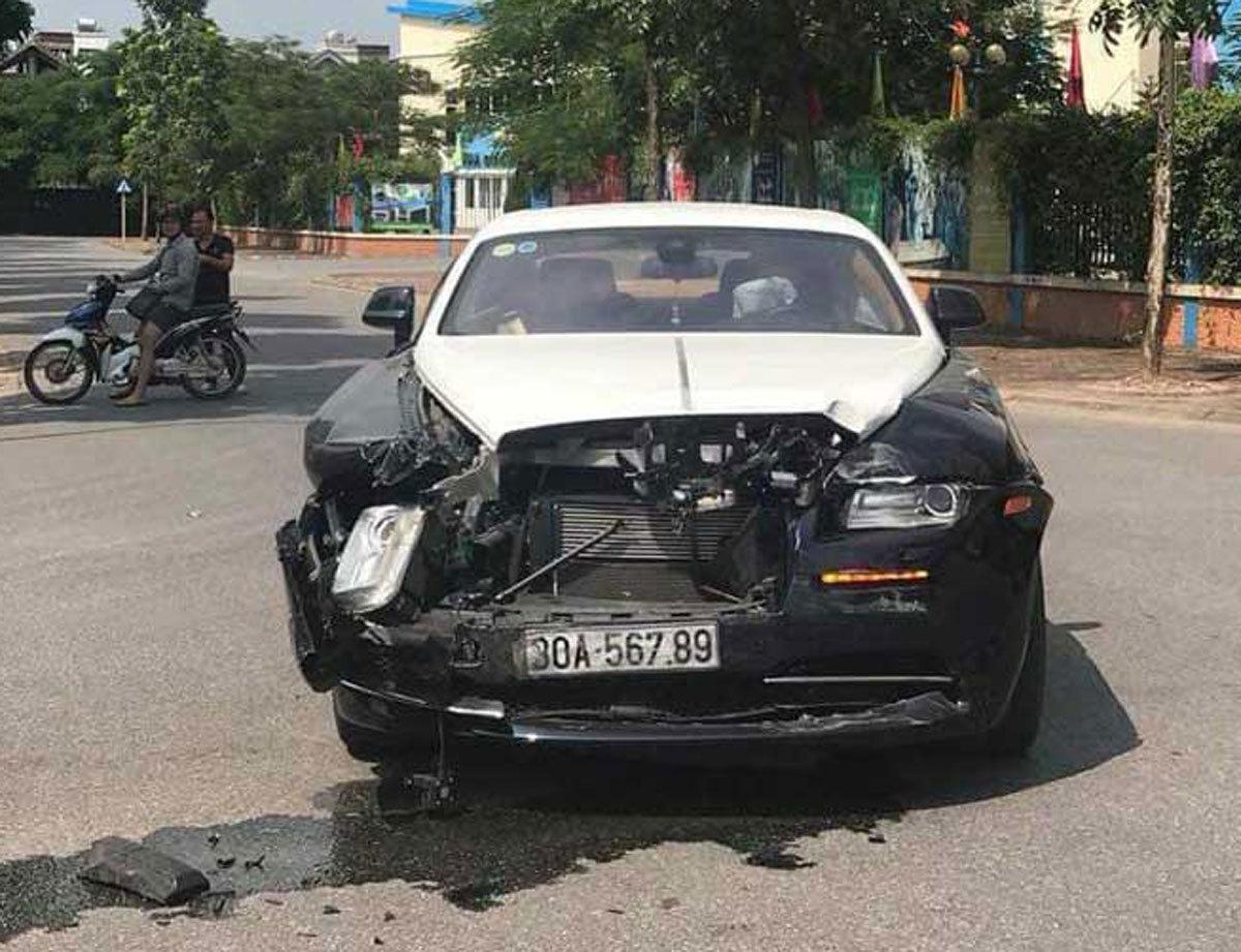 tai nạn giao thông,siêu xe,xe sang