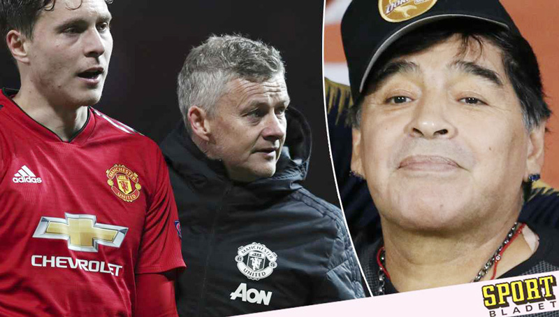 Maradona tuyên bố thay Solskjaer dẫn dắt MU