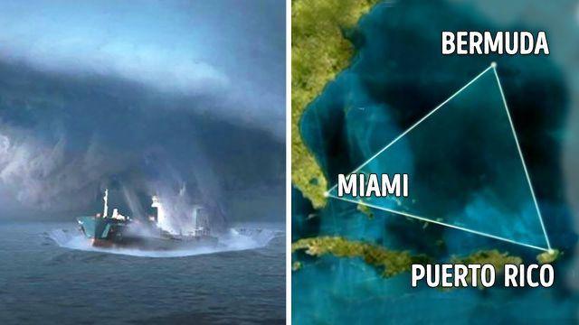 Hé lộ nguyên nhân dẫn tới những vụ tàu bè mất tích bí ẩn ở tam giác quỷ Bermuda