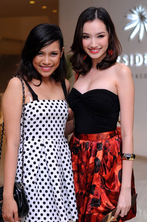 Diện bikini táo bạo, em gái hoa hậu Việt khoe thân hình nóng bỏng