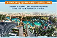 Nghỉ dưỡng giải trí biển ở 'vị trí kim cương' vùng sa thảo Ninh Thuận