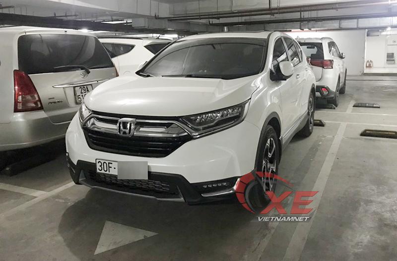 Honda CR-V,CR-V bị khóa cứng phanh
