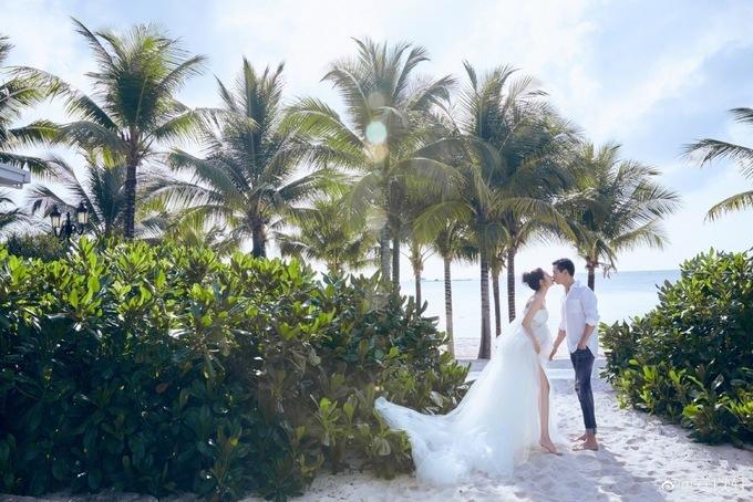 Mỹ nhân Đài Loan khoe ảnh kỷ niệm ngày cưới cùng chồng đại gia tại Phú Quốc