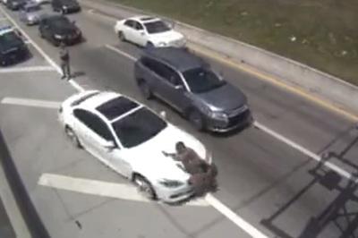Tài xế BMW tông cảnh sát trọng thương rồi bỏ trốn