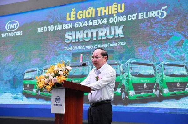 TMT Motors 'hợp tác' Sinotrukgiới thiệu xe tải động cơ Euro 5
