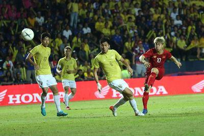 Video bàn thắng Việt Nam 1-0 Thái Lan