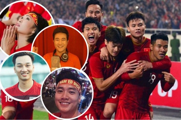 Sao Việt vỡ oà với bàn thắng tuyển VN, chê Thái Lan đá phi thể thao