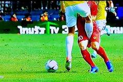 Những pha chơi xấu của cầu thủ Thái Lan với ĐT Việt Nam
