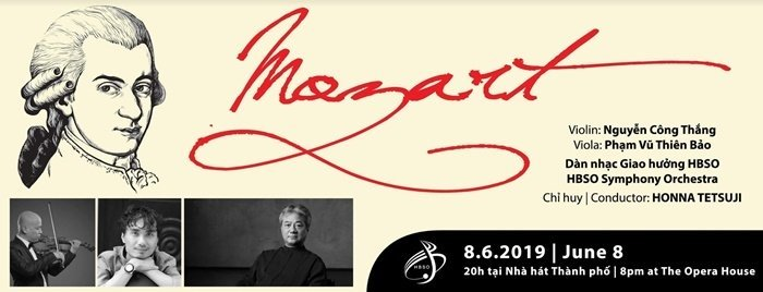 'A Night of Mozart' programme to entertain Ho Chi Minh City audience