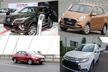 Ô tô nhập khẩu chuyển sang lắp ráp, giá giảm, bán chạy