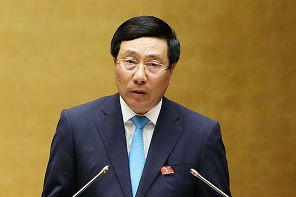 Phó Thủ tướng,thương mại Mỹ-Trung,Phạm Bình Minh,Quốc hội,chất vấn