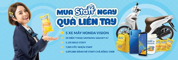 Mua Staff, cơ hội trúng xe Vision