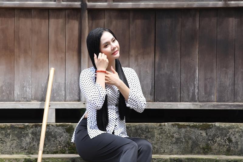 Lương Nguyệt Anh mời gọi 'người yêu' về miền quê Kinh Bắc