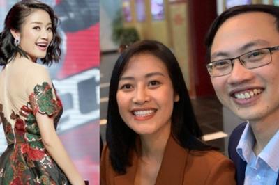 Chồng sắp cưới MC Phí Linh nói tiếng Anh như gió trên truyền hình