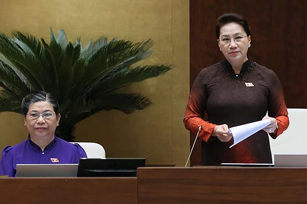 Chủ tịch QH 'chấm điểm' 4 bộ trưởng sau chất vấn