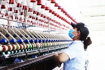 Dệt 8-3 khai trương hệ thống sợi