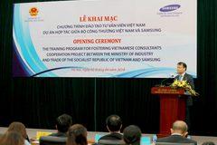 Samsung hợp tác đào tạo chuyên gia công nghiệp phụ trợ