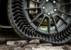 Lốp xe không hơi: Không lo nổ, thủng, bẹp