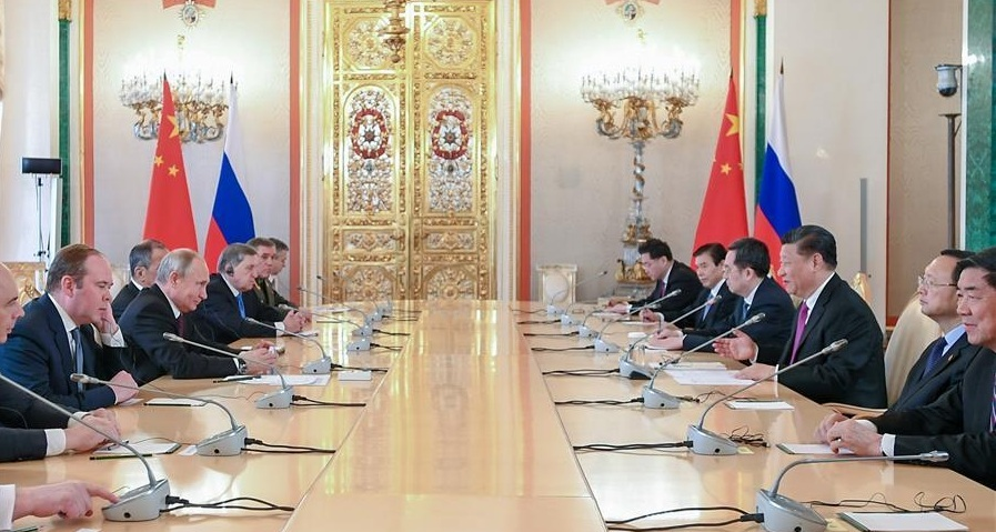 Nga,Trung Quốc,Mỹ,hợp tác thương mại,đối tác chiến lược