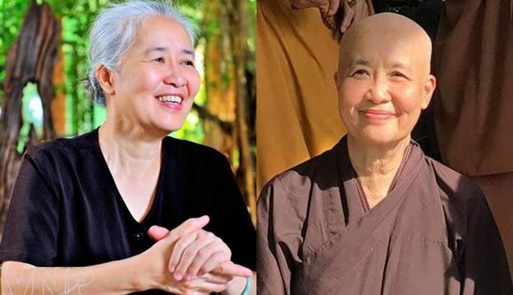 Nguyễn Dzoãn Cẩm Vân,Đi tu,Phật tử