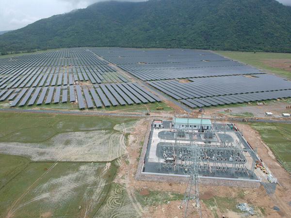 Dự án điện mặt trời của Sao Mai Group 'cán đích'