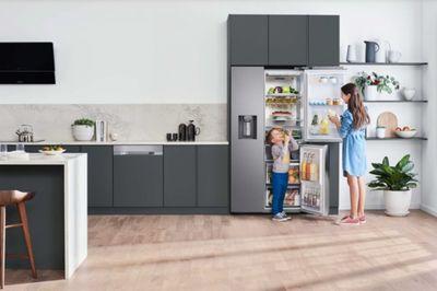 Tủ lạnh Side by Side RS5000 tái định nghĩa trải nghiệm không gian bếp