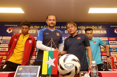 """HLV U23 Myanmar: """"Bóng đá Việt Nam đang là số 1 Đông Nam Á"""""""
