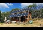 Căn nhà lắp điện mặt trời, đủ dùng cho 2 gia đình