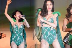 Sao Việt vô tư mặc áo tắm lên thẳng sân khấu tự nhiên như ra bãi biển